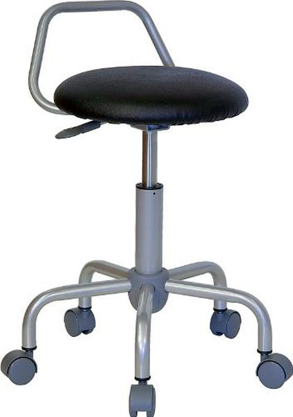 Flash Furniture Medical Ergonomic Stool with Chrome BaseWL-ST-08-GG