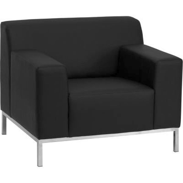 Flash Furniture HERCULES Black ChairZB-DEFINITY-8009-CHAIR-BK-GG