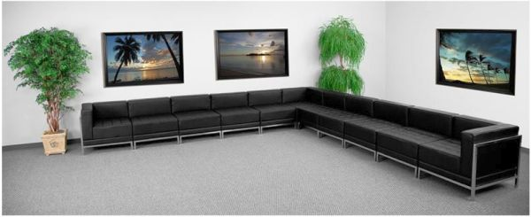 Flash Furniture HERCULES Sectional ConfigurationZB-IMAG-SECT-SET2-GG
