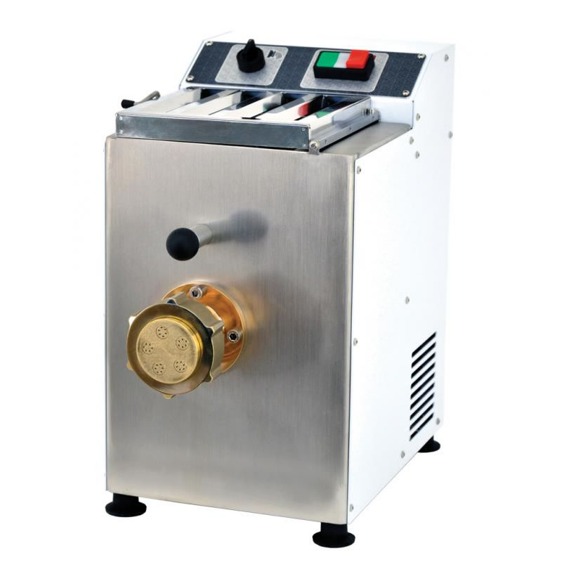 Omcan (FMA) 'Pasta Machine, table top, 3.3 lb. tank capacity, 8.8 lb. output/hour, includes (3) dies, 1/2 HP