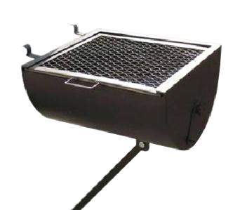 """Omcan (FMA) 'Attachable Side, BBQ for GX Wood Burning Oven 18.5"""" x 18"""" FMA-23555"""