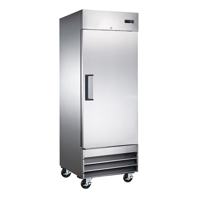 Omcan (FMA) 'Refrigerator, reach in, one-section, 23 cu. ft, 1/3 HP, 7.9 amps, CE, ETL, Energy Star