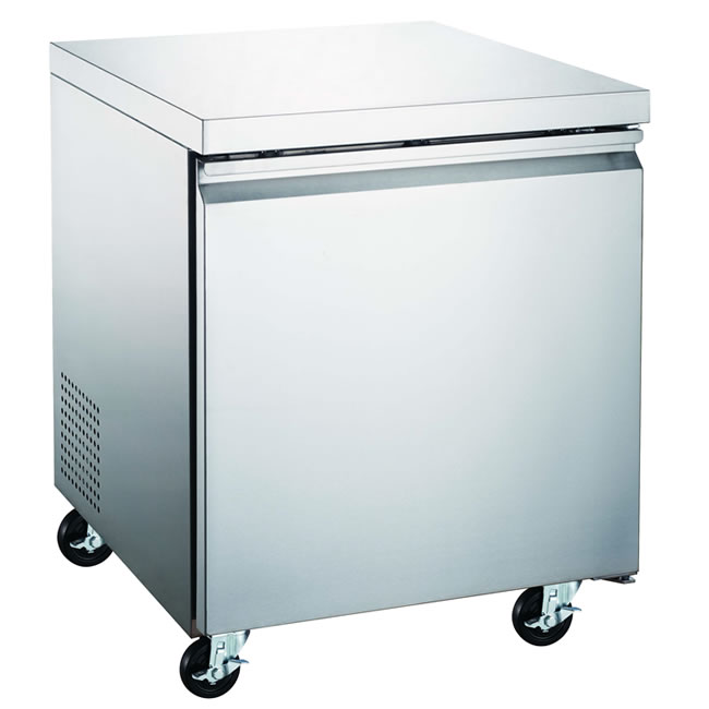 Omcan (FMA) 'Under Counter Freezer, reach in, one section, 6.25 cu. ft, 1.47 amps, 257W, ETL, CE