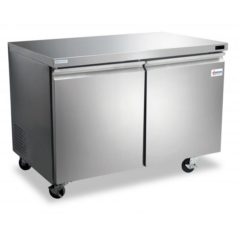 Omcan (FMA) 'Under Counter Freezer, reach in, two section, 11.94 cu. ft, 3.2 amps, 441W, ETL, CE