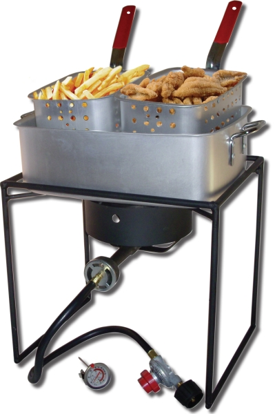 King Kooker Portable Rectangular Propane Cooker, 54,000 BTU