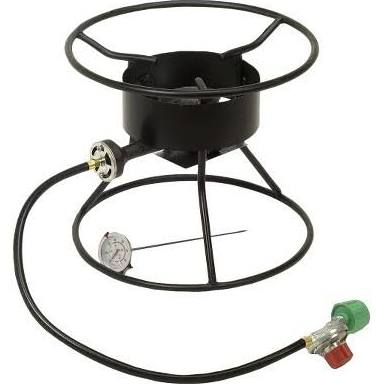 "King Kooker 12"" Portable Outdoor Tripod Cooker, 54,000 BTU"