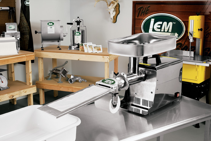 Patty Maker Attachment for #22 Meat Grinders LEM-517B-MPP1