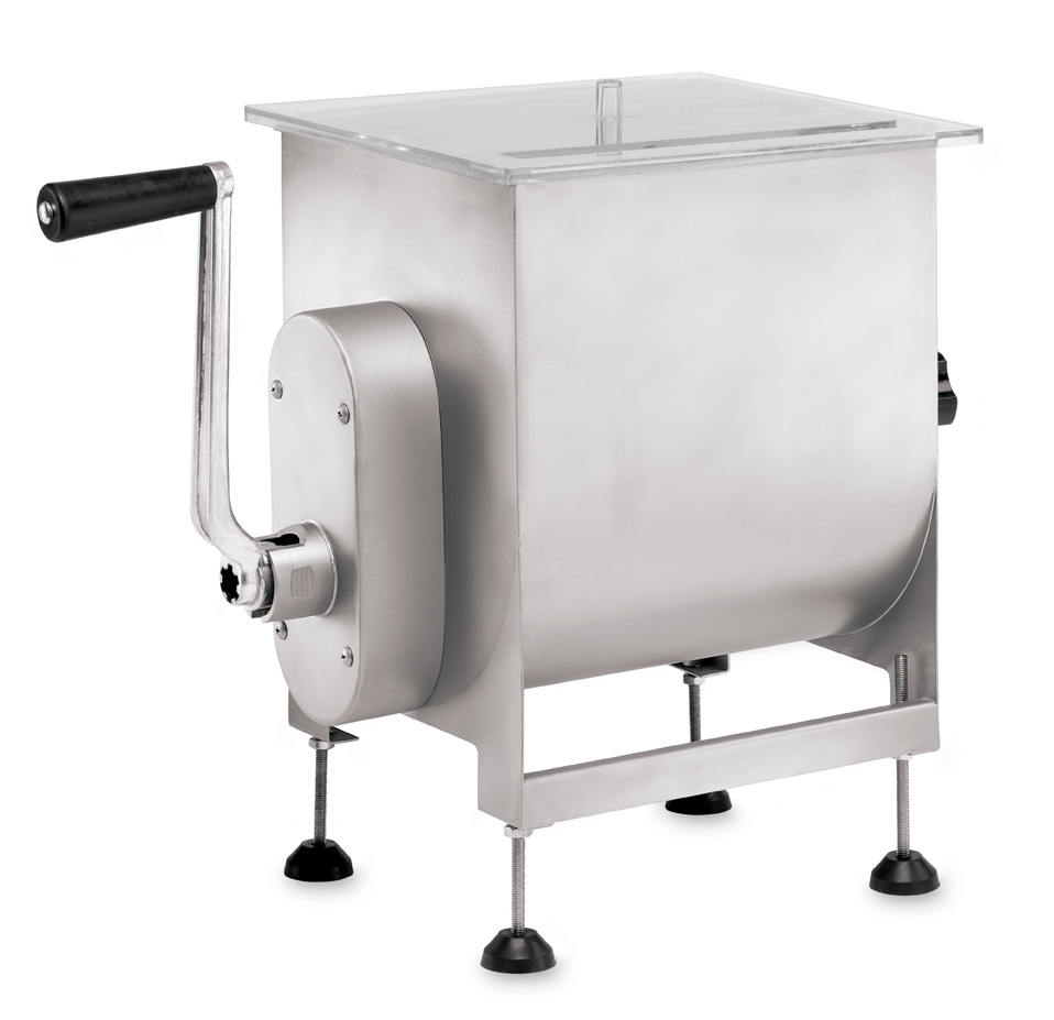 50 lb Capacity Meat Mixer - Manual or Attach to Meat Grinder LEM-734A-MPP1