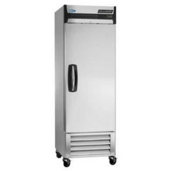 Nor-Lake AdvantEDGE™ Reach-In Freezer, One-Section, bottom mount compressor, auto defrost, magnetic gaskets, (4) vinyl coated shelves, interior light, stainless steel interior and exterior, hing