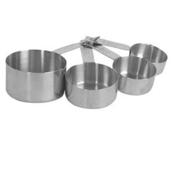 Thunder Group Stainless Steel Measuring Cup Set (1/4, 1/3, 1/2, 1Cup) THUN-SLMC2414