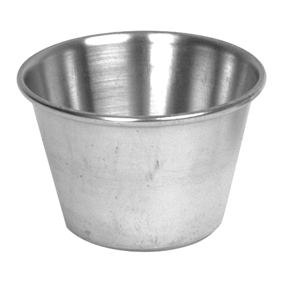 Thunder Group 2.5 Oz Stainless Sauce Cup THUN-SLSA002