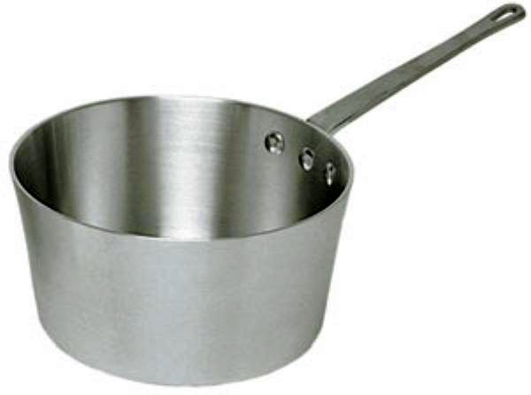 Update International Sauce Pan Alum 5 1/2 Qt with Long Metal Handle UPD-ASP-5