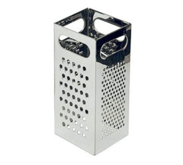 Update International Grater 4 Sided S/S 4 x 4 x 9