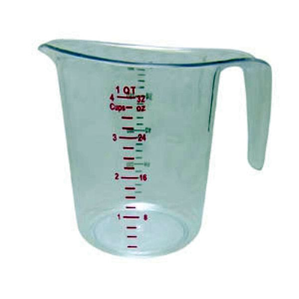 Update International Measuring Cup, 1 Qt Polycarbonate UPD-MEA-100PC