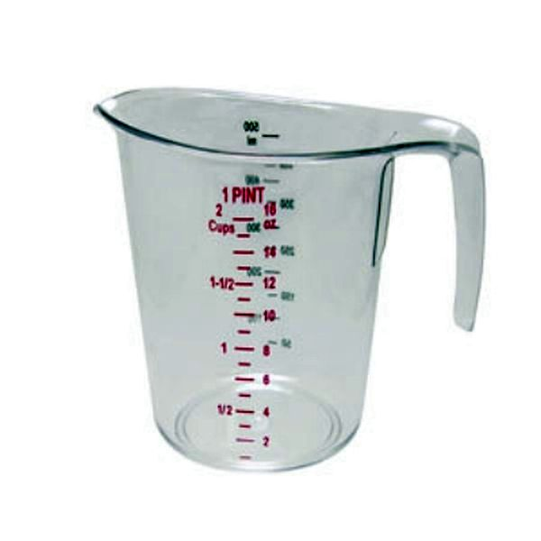 Update International Measuring Cup, 1 Pt Polycarbonate UPD-MEA-50PC