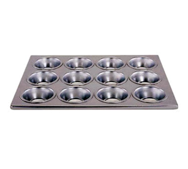 Update International Muffin Pan Alum 12 Cup UPD-MPA-12