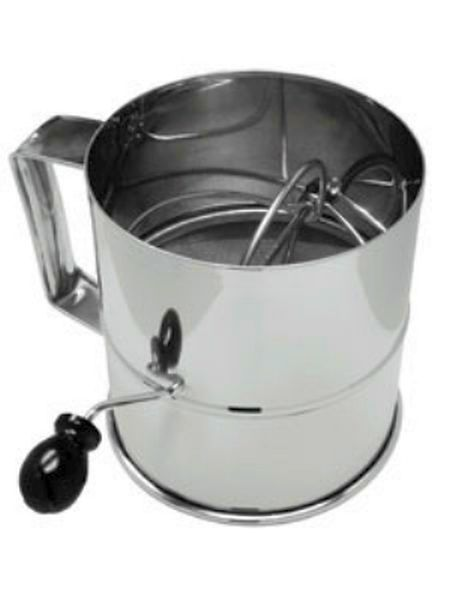 Update International Flour Sifter Rotary S/S 8 Cup UPD-RFS-3LB