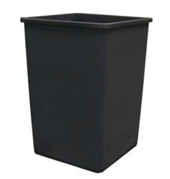Update Intercontinental Trash Can Plastic 35 Gal Black