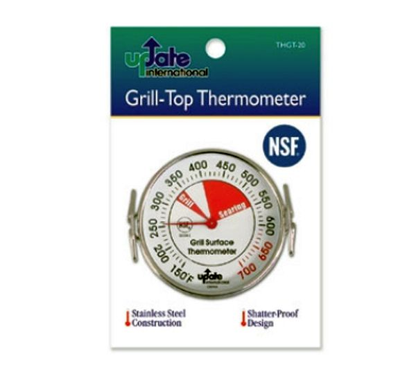 Update International Thermometer Grill Top 2in Dial 150 - 700 DEG F UPD-THGT-20