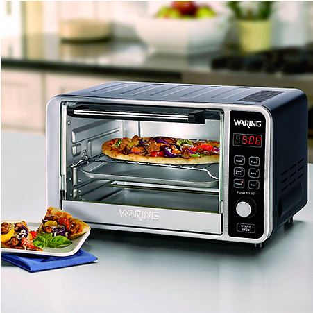 Waring Pro Digital .6 Cubic Feet Convection Oven WAR-TCO650