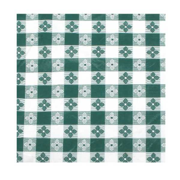 """Winco Table Cloth, 52"""" X 90"""", Oblong, Green"""
